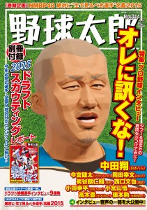 3月18日(水)発売!「野球太郎No.14」の特集は【オレに訊くな!】