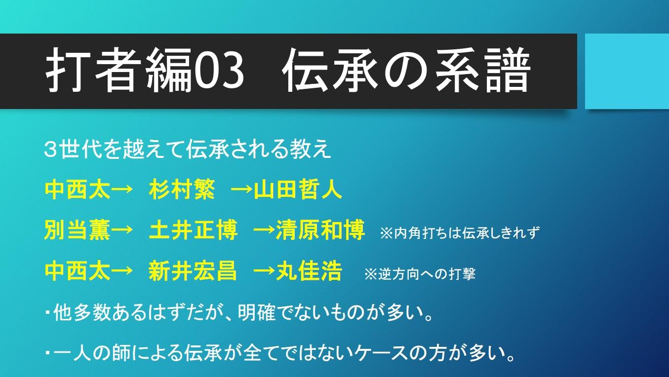 6月12日・オンラインイベント『プロ野球 師弟関係の系譜論』第2回開催!